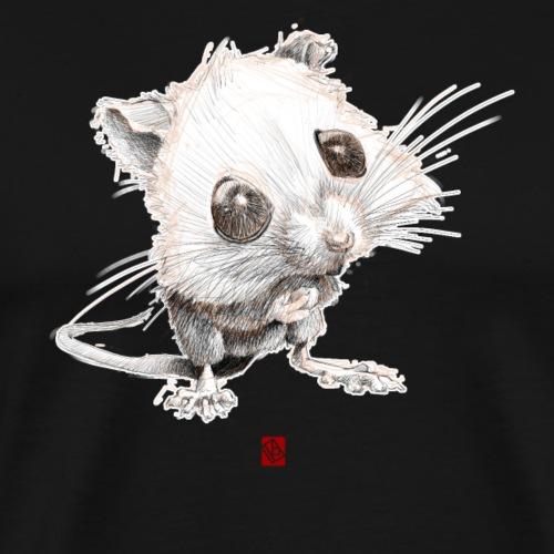 Sketchy Souris - T-shirt Premium Homme