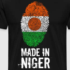 Made In Niger - Herre premium T-shirt