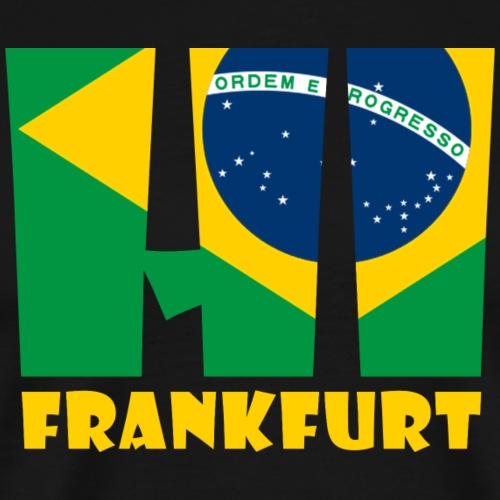 HI BRAZIL - Männer Premium T-Shirt