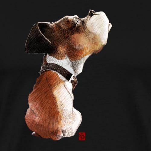 Sketchy Boxer - T-shirt Premium Homme