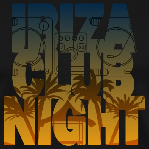 Ibiza Club Night - Männer Premium T-Shirt