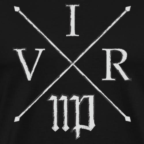 Sternzeichen Jungfrau für Männer = VIR (antik) - Männer Premium T-Shirt