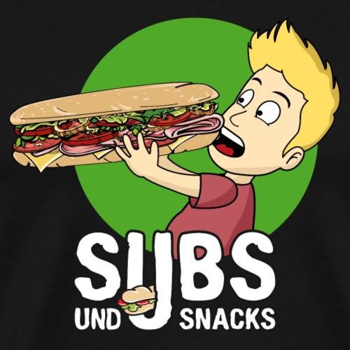 Subs und Snacks Riesensandwich - Männer Premium T-Shirt