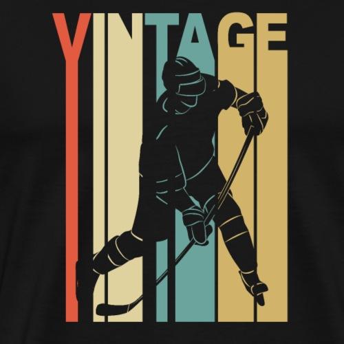 Lustiges cooles Eishockey Geschenk Hockey - Männer Premium T-Shirt