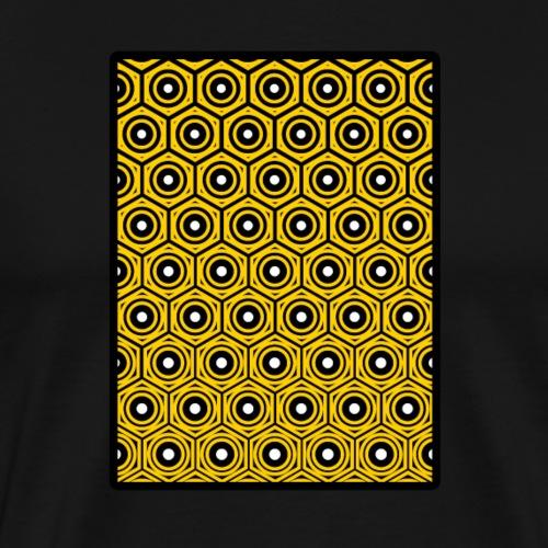 Geometrie T-Shirt - Psy - Yoga - Tattoo - Muster - Männer Premium T-Shirt