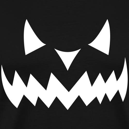 Halloween Monster Face - Männer Premium T-Shirt