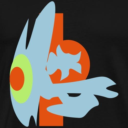 the Eye confusing / Oversize / Popartcontest 2018 - Männer Premium T-Shirt
