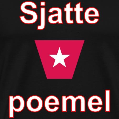 Sjattepoemel ms vert w3 - Mannen Premium T-shirt
