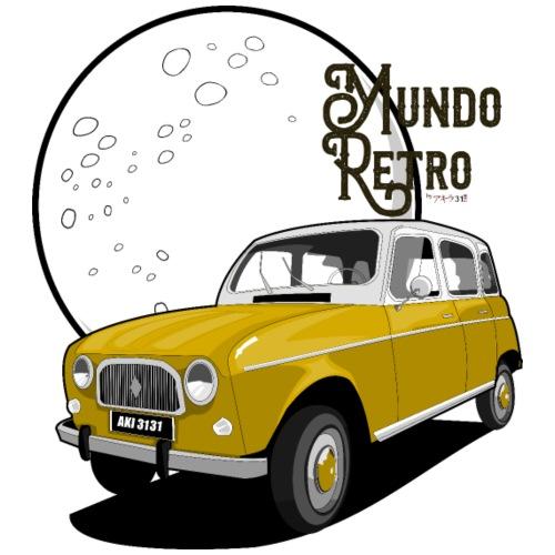 Mundo Retro - Camiseta premium hombre