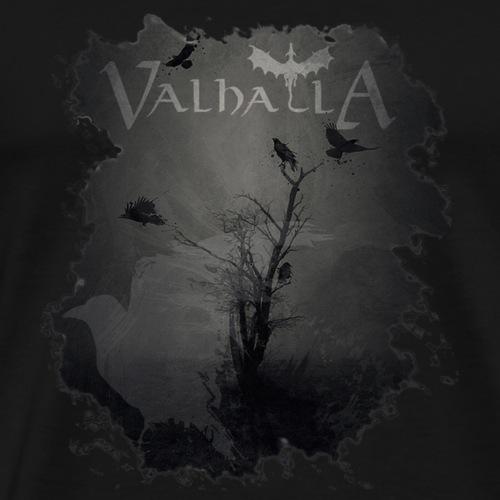valhalla ravens - Herre premium T-shirt