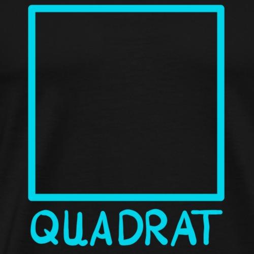 Das Quadrat - Männer Premium T-Shirt