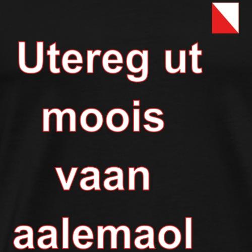 Utereg ut moois vaan aalemaol verti def w - Mannen Premium T-shirt