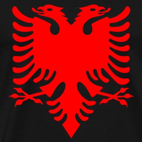 albania shirt albanisch Adler 2 Köpfen geschenk - Männer Premium T-Shirt
