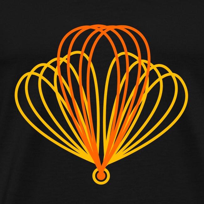 volo schematico arancione