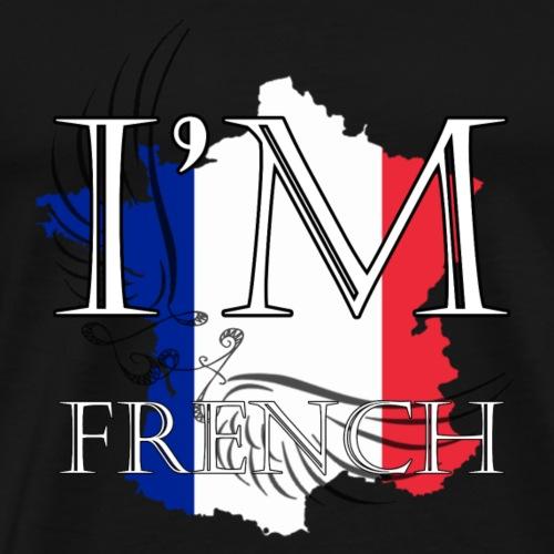 I am French - Maglietta Premium da uomo