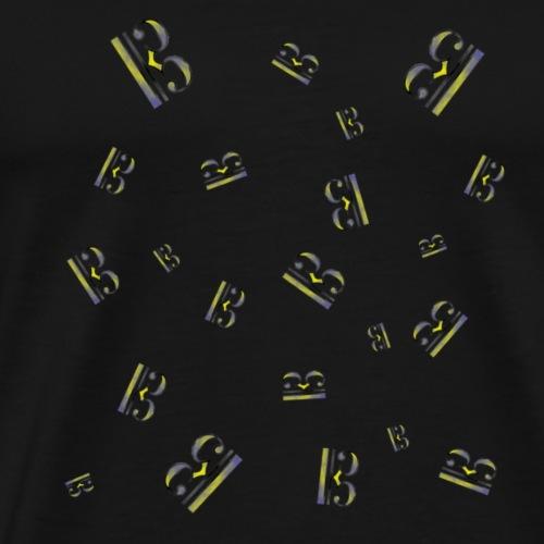 CLAVE_DO - Camiseta premium hombre