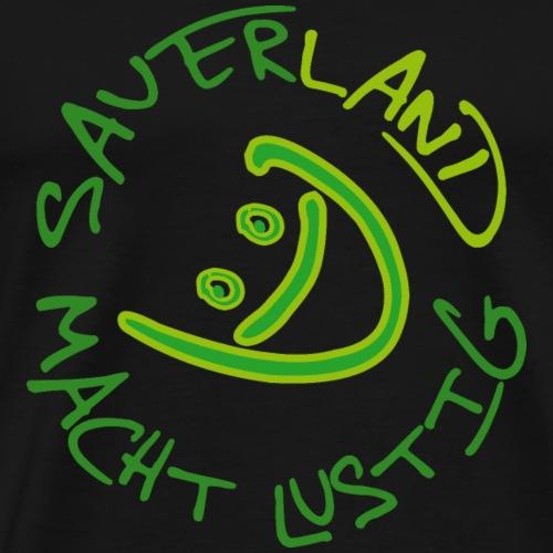 SAUERLAND MACHT LUSTIG - Männer Premium T-Shirt