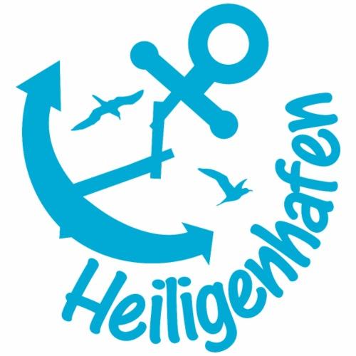 Heiligenhafen-Anker Blau - Männer Premium T-Shirt