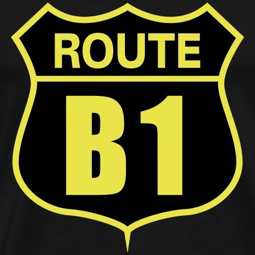 Route B1 - Männer Premium T-Shirt