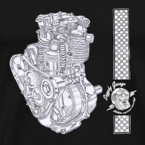 motore boneville old - Maglietta Premium da uomo