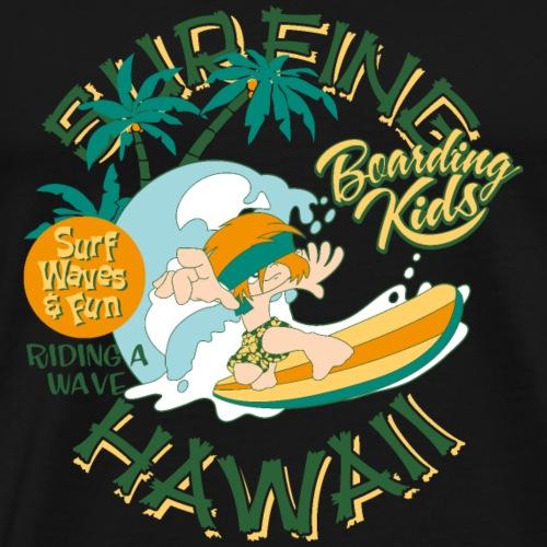 Surfing Hawaii - Männer Premium T-Shirt