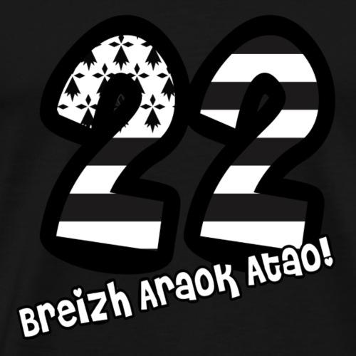22 Cotes d'Armor - T-shirt Premium Homme