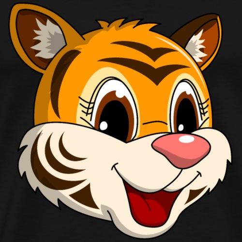 lorey.w kleiner Tiger, Mädchen - Männer Premium T-Shirt