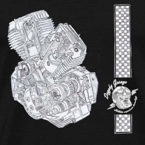 motore morini - Maglietta Premium da uomo