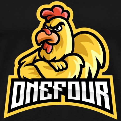 ONEFOUR Logo - Männer Premium T-Shirt