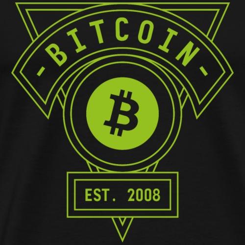 Bitcoin - Camiseta premium hombre