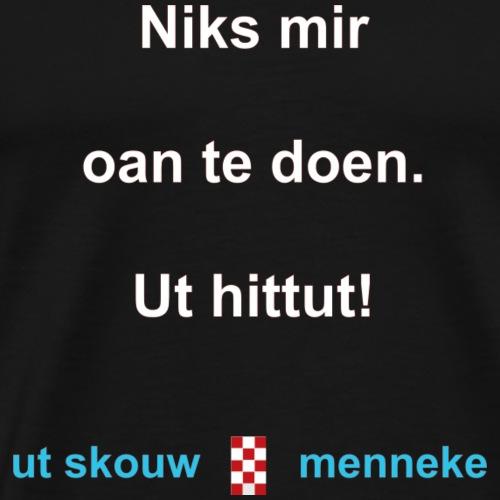 Ut hittut-w - Mannen Premium T-shirt
