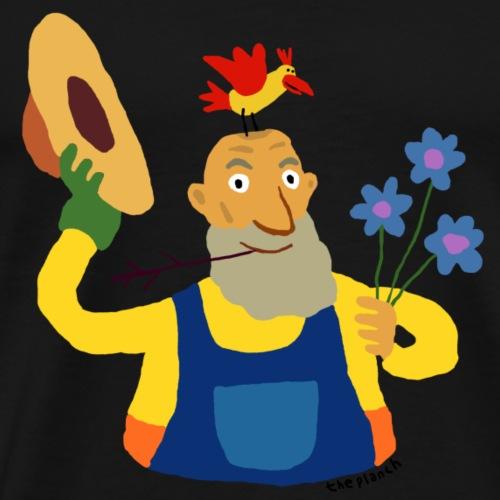 Jack le jardinier - T-shirt Premium Homme