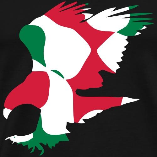 KURDISTAN EAGLE / ADLER - CAMO / CAMOUFLAGE - Männer Premium T-Shirt