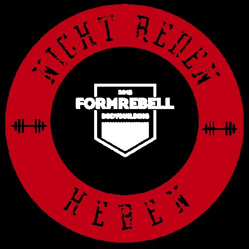 NICHT REDEN: HEBEN! (rot/weiß) - Männer Premium T-Shirt