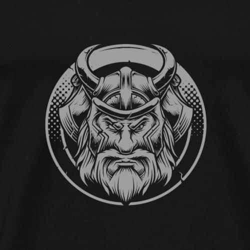 Odin (dunkler Hintergrund) - Männer Premium T-Shirt