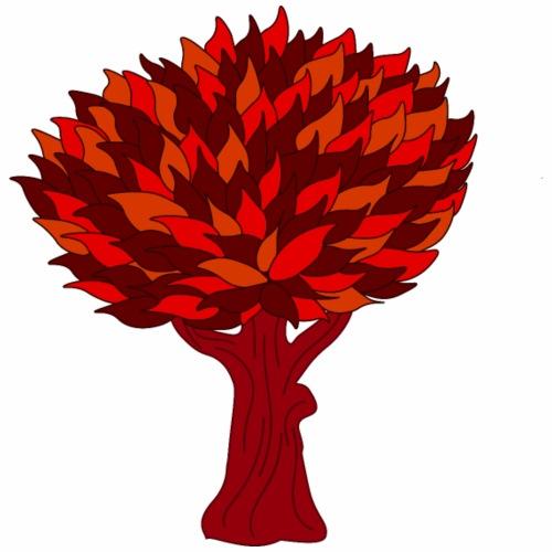 Baum rot - Männer Premium T-Shirt
