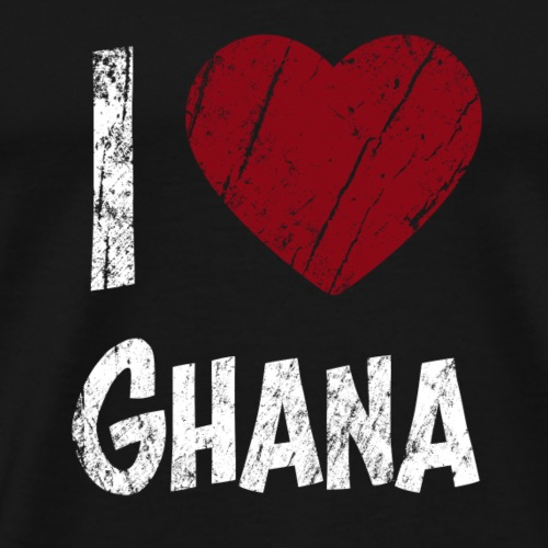 I Love Ghana - Männer Premium T-Shirt