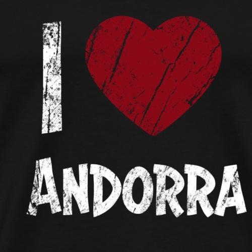 I Love Andorra - Männer Premium T-Shirt