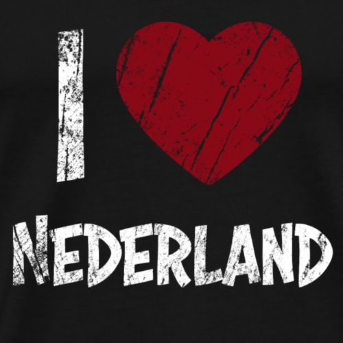I Love Nederland - Männer Premium T-Shirt