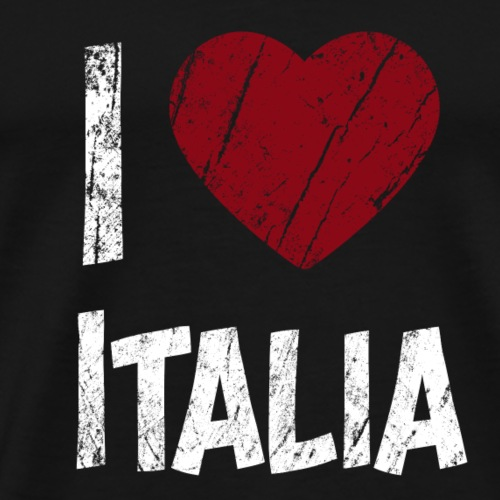 I Love Italia - Männer Premium T-Shirt