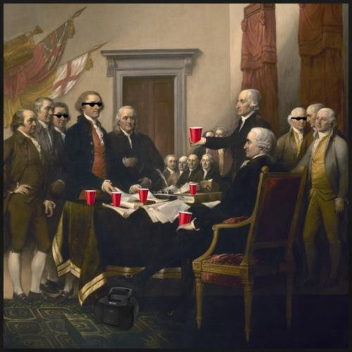 Unabhängigkeitserklärung der Vereinigten Staaten - Männer Premium T-Shirt