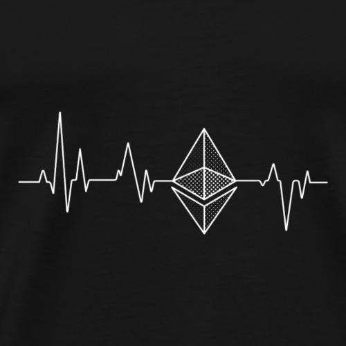 Heartbeat - Männer Premium T-Shirt