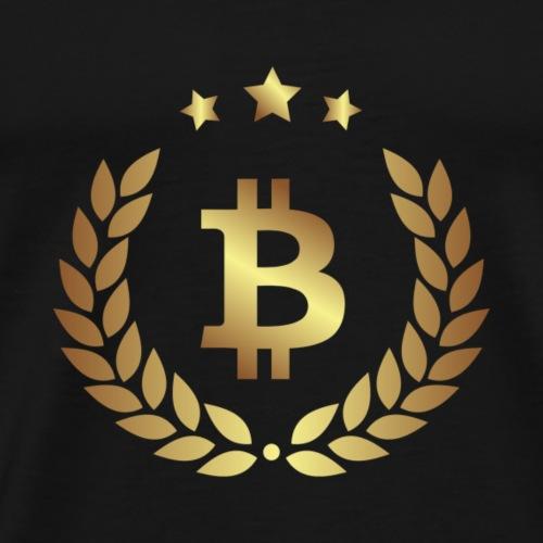 Bitcoin 16 - Männer Premium T-Shirt