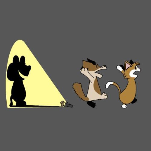 Scary Mouse - Men's Premium T-Shirt
