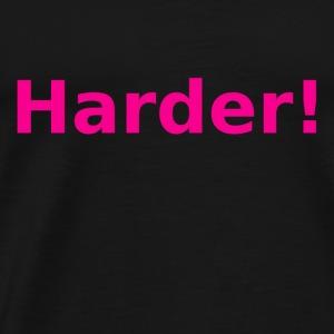 Harder roze - Mannen Premium T-shirt