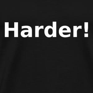Harder wit - Mannen Premium T-shirt