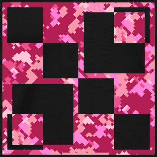 Pink camouflage - Männer Premium T-Shirt