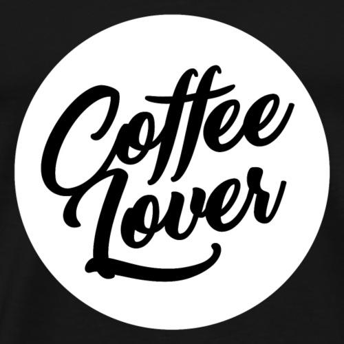 Bild Coffee Lover weiss - Männer Premium T-Shirt