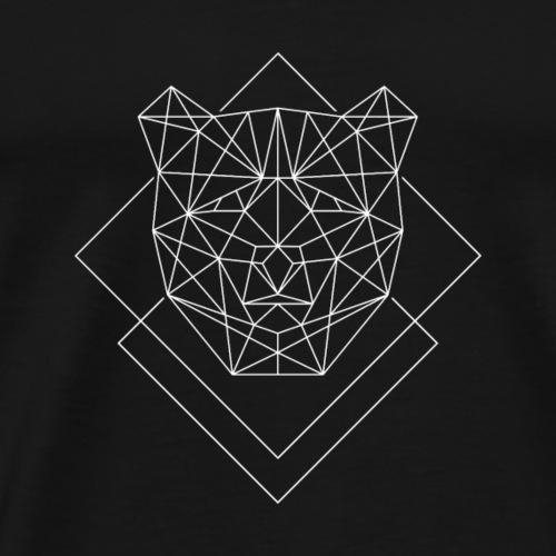 Polygon Baer weiss - Männer Premium T-Shirt