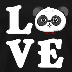 Love Panda liebe Geschenk - Männer Premium T-Shirt